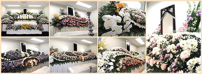 桑名葬祭の様々な祭壇